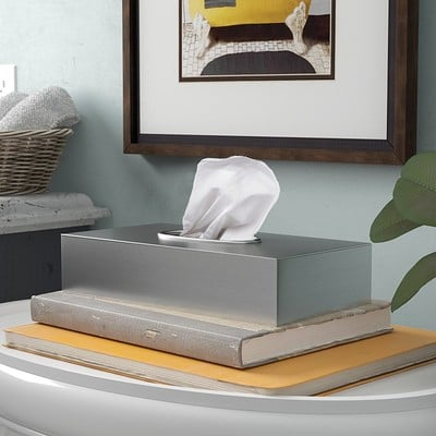 Luis valle francene tissue box cover