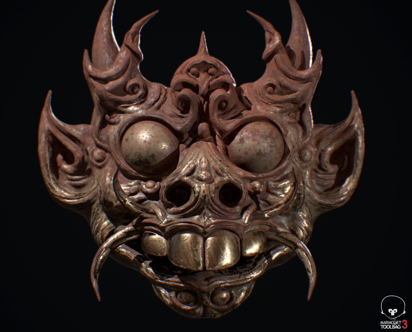 Indonesia/Thai mask