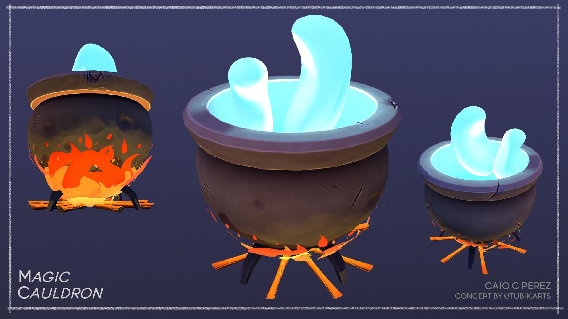 Caio perez cauldron