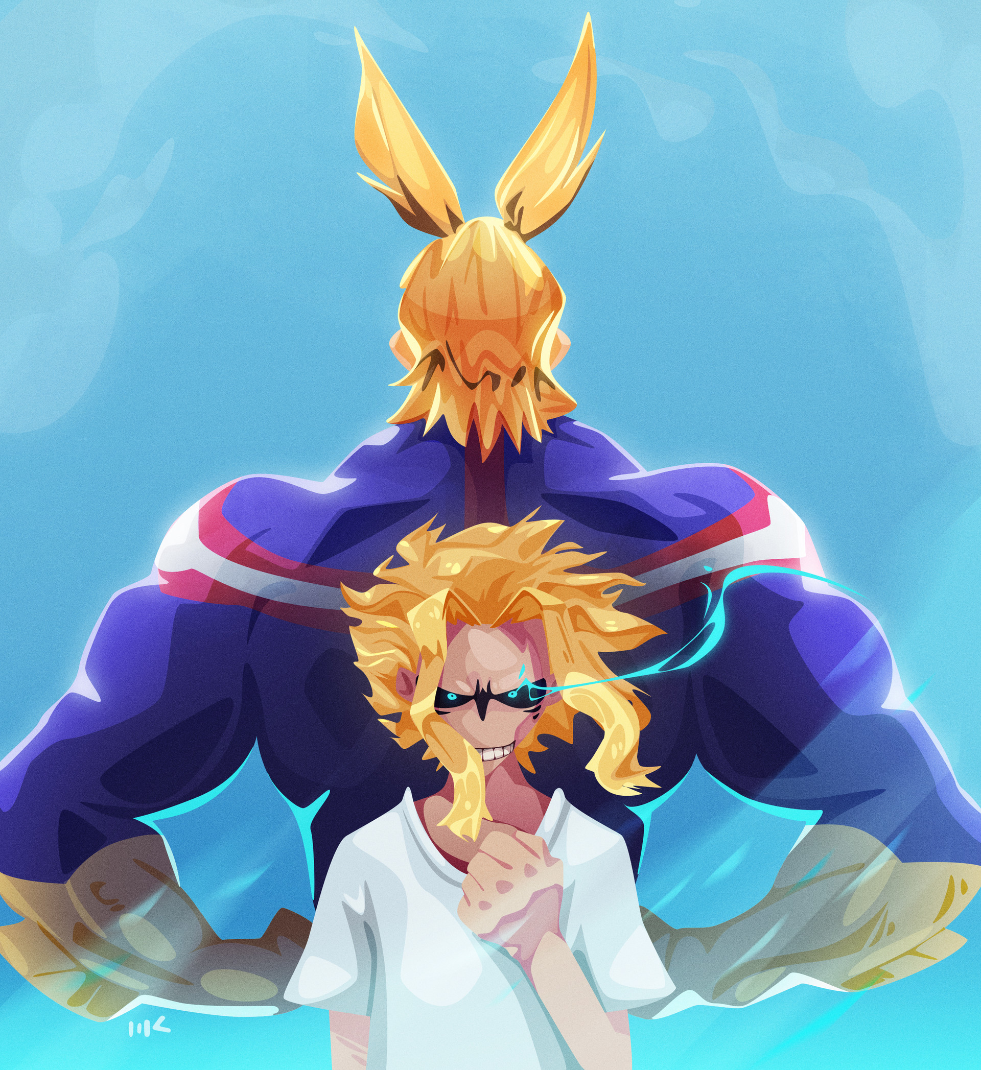 Moutaz k maudy all might