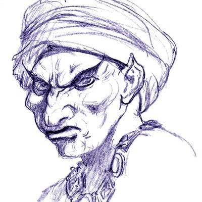 George almond flaym efreet wizard