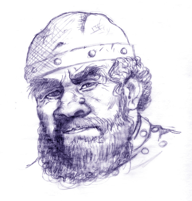 Tharj, Dwarf Warrior