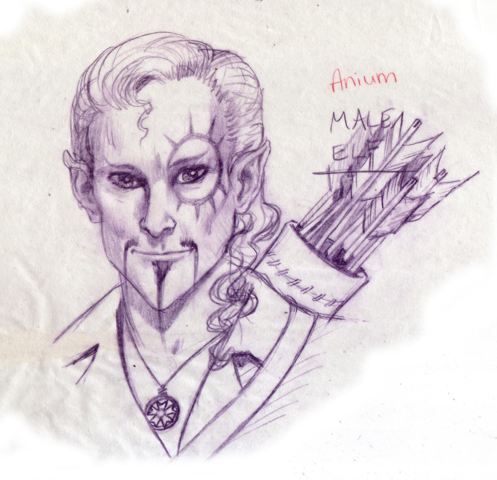 Anium, Elf Archer