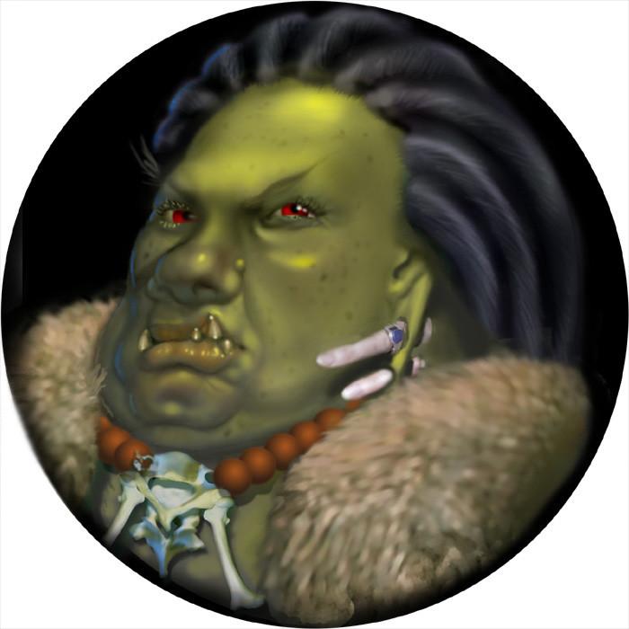 Abeggea, Ogress