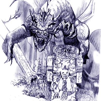 George almond azure dragon