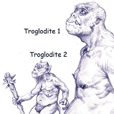 George almond troglodites