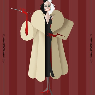 Christopher ables disney villains cruella de vil