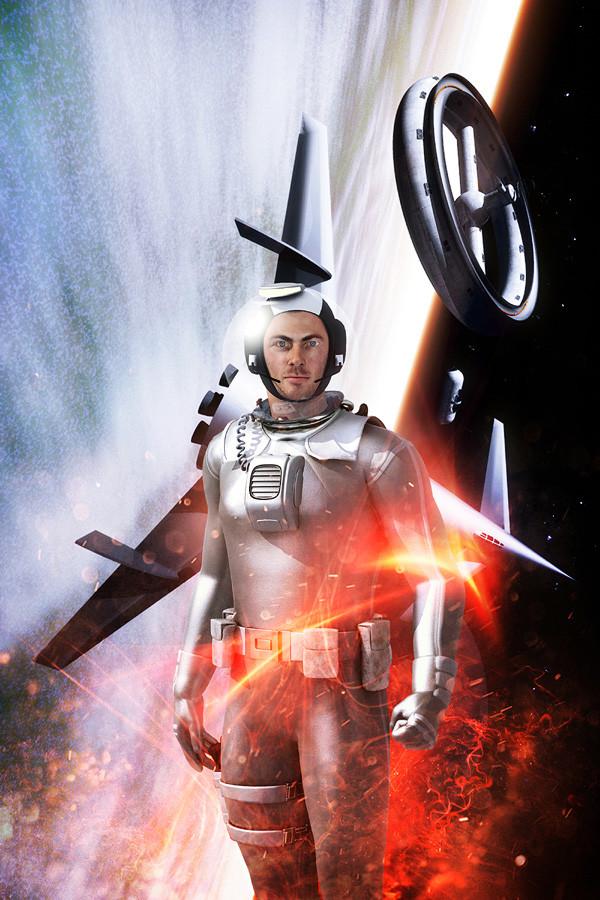 Luca oleastri space ranger mongini 900
