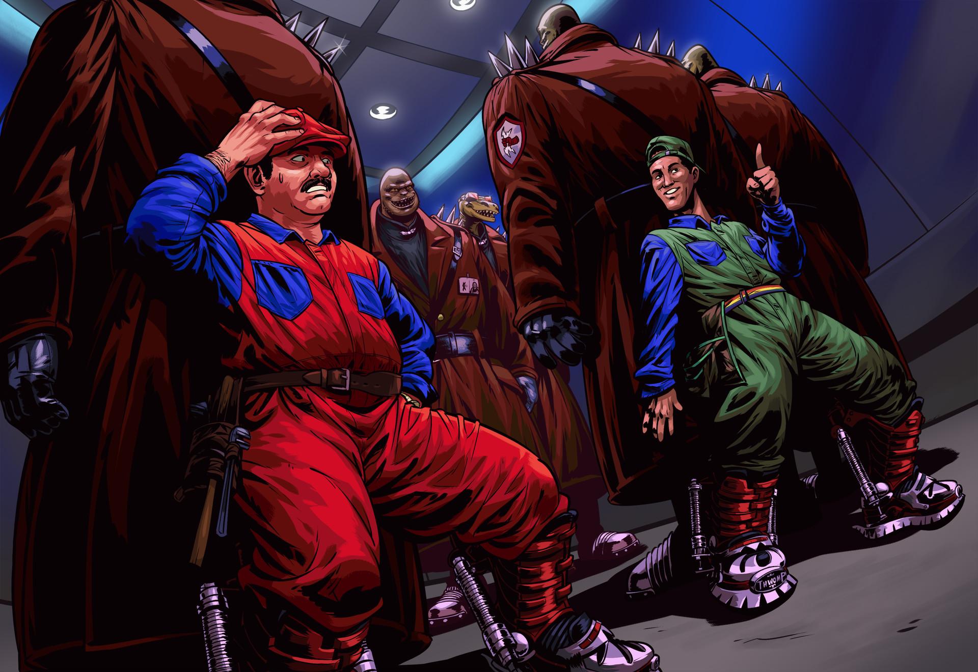 Artstation Super Mario Bros 1993 Film Dany Desmeules
