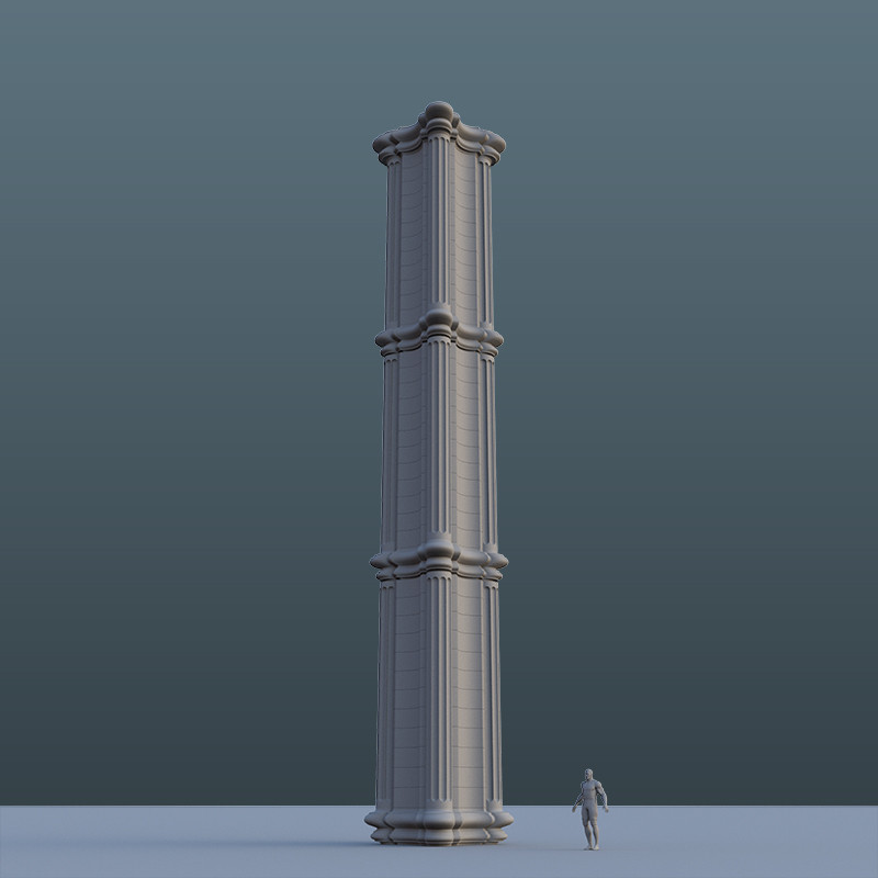 Making a new type of pillar