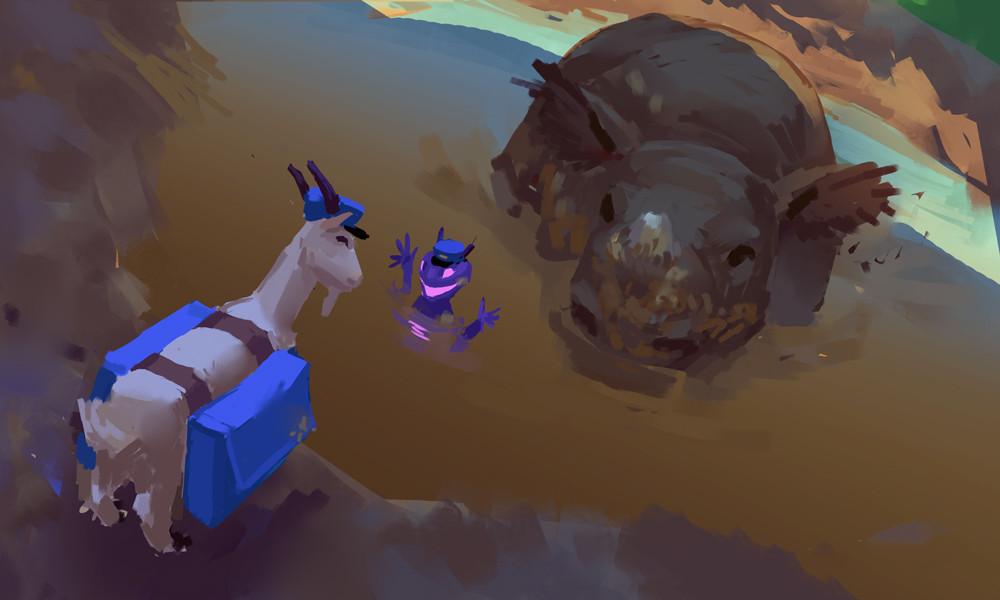 Devin platts rhino mudbath