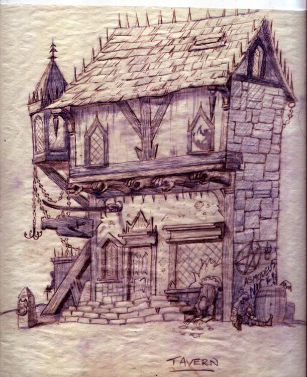 Inferno Town Tavern