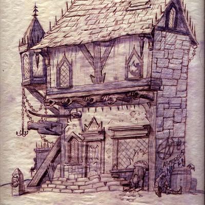 George almond inferno tavern