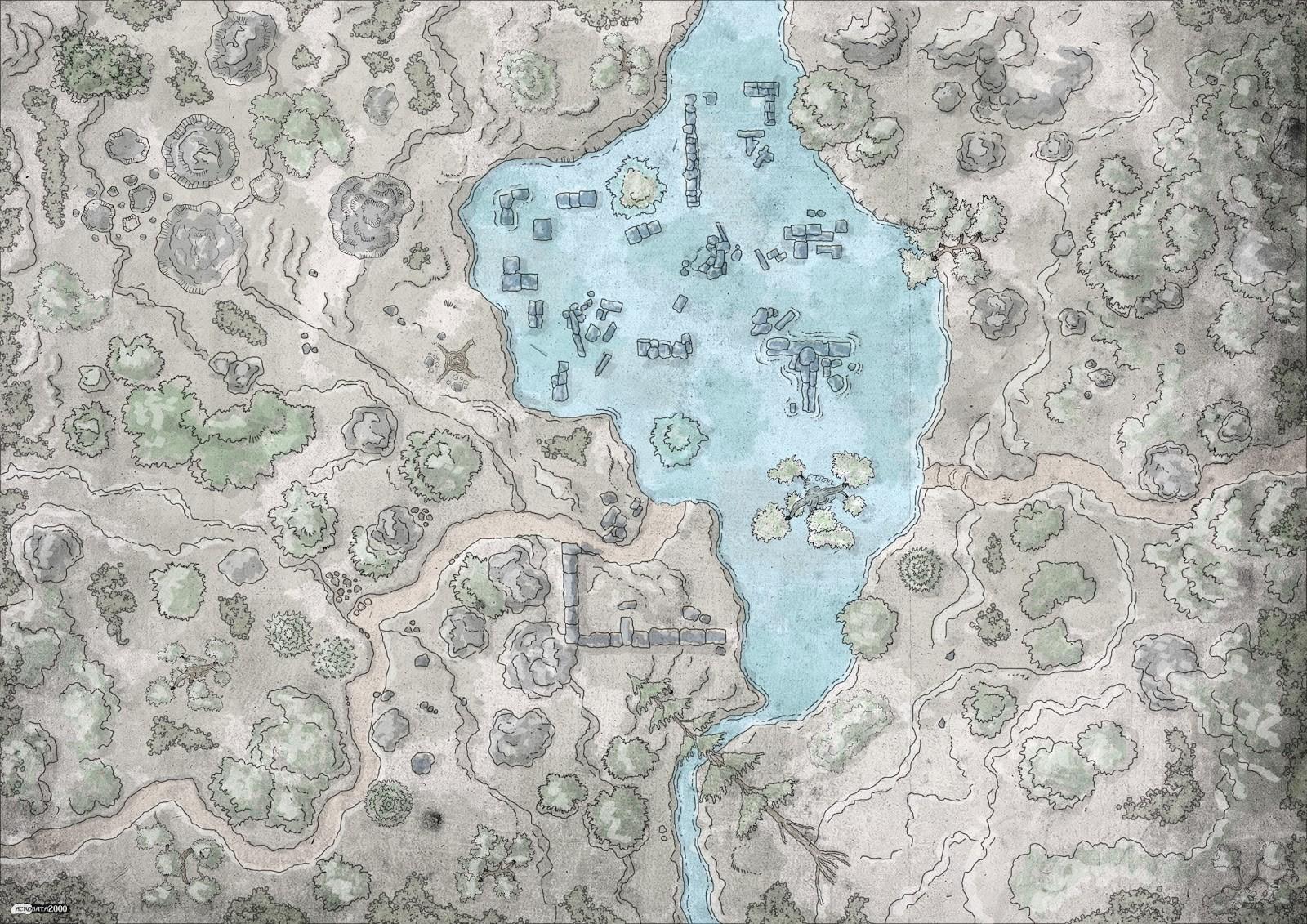 Daniel menendez forest map