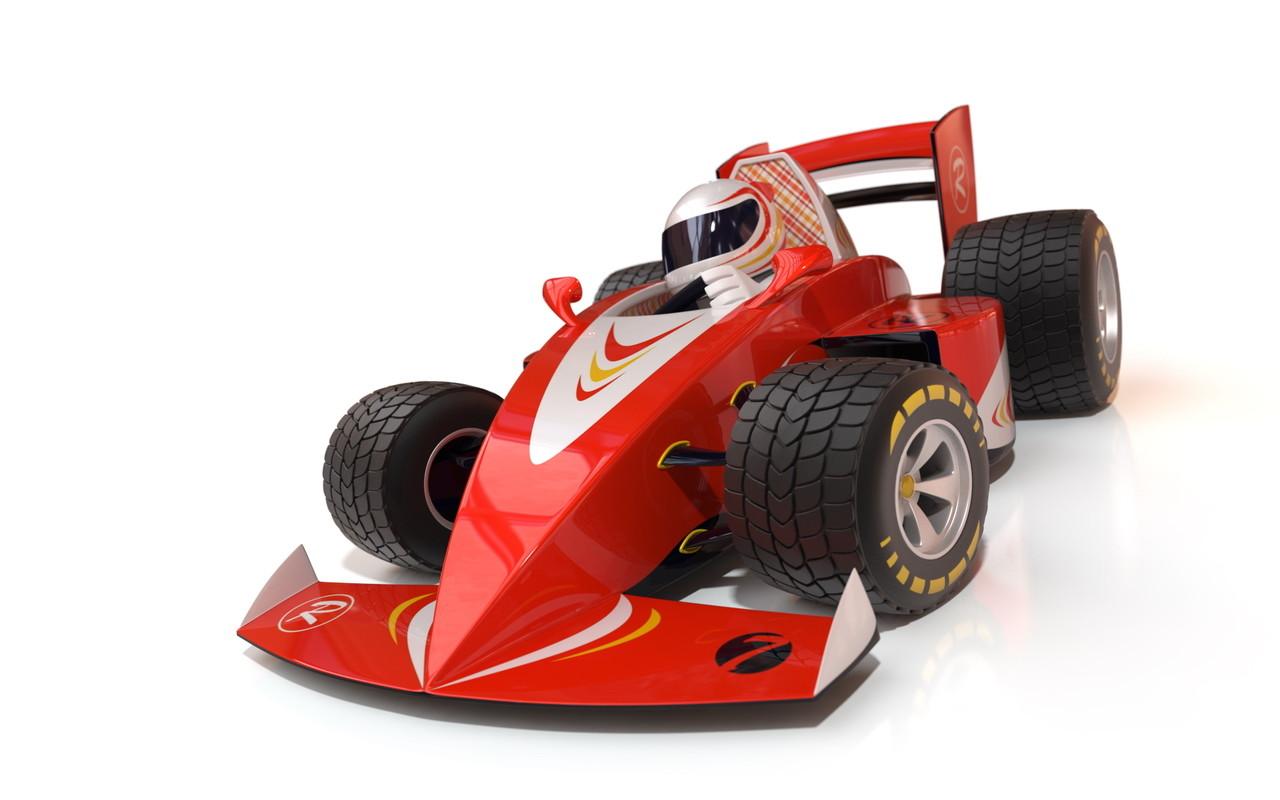 Maxim Valeev F1 Cartoon Racing Car