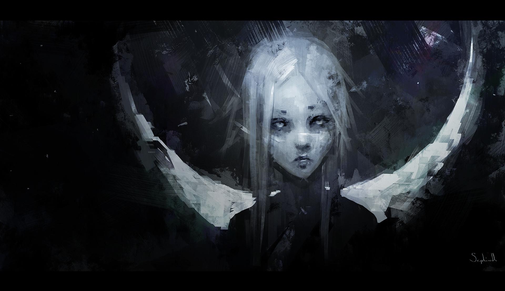 Sephiroth art moon 1920