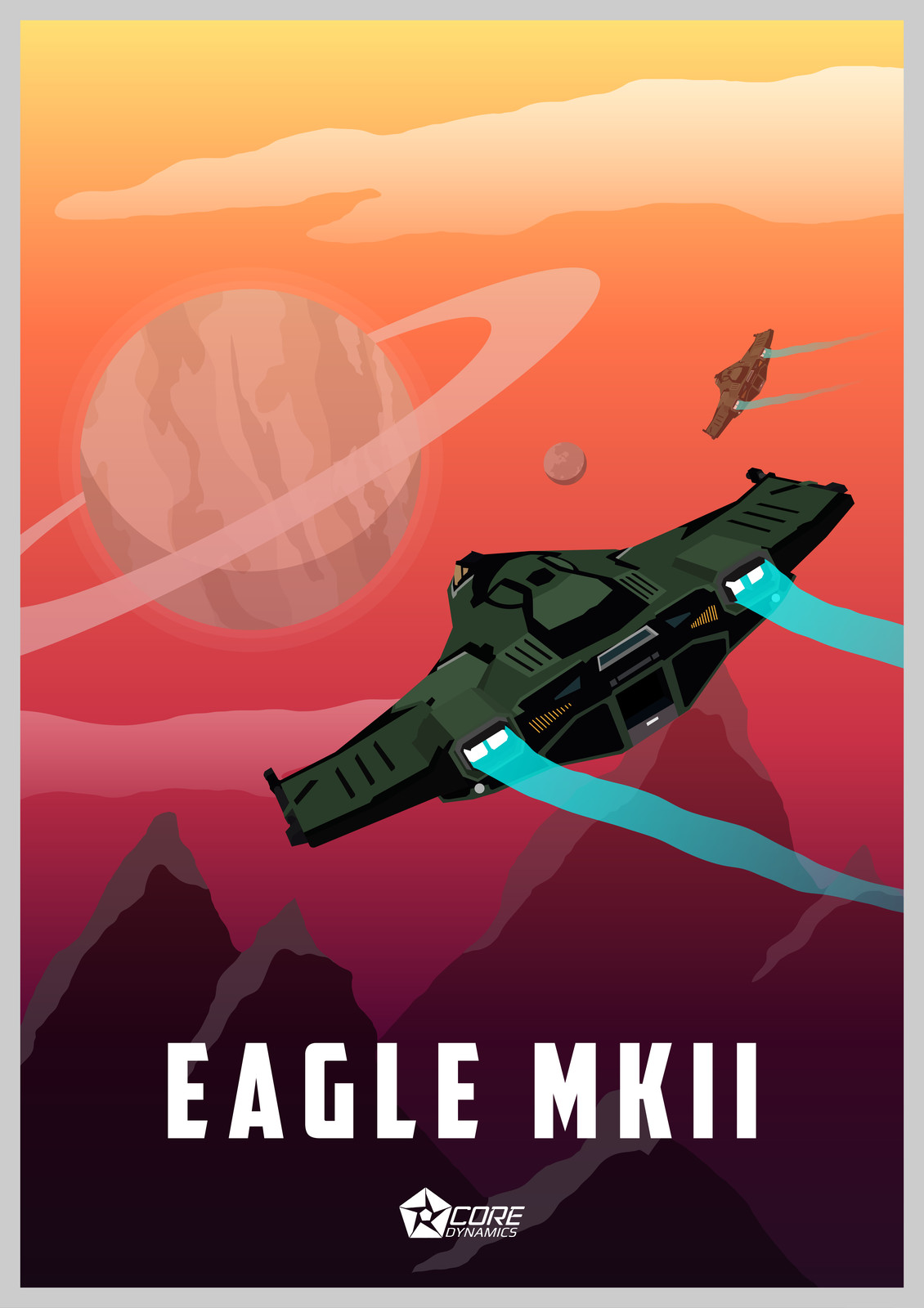 Elite Dangerous - Eagle MK II