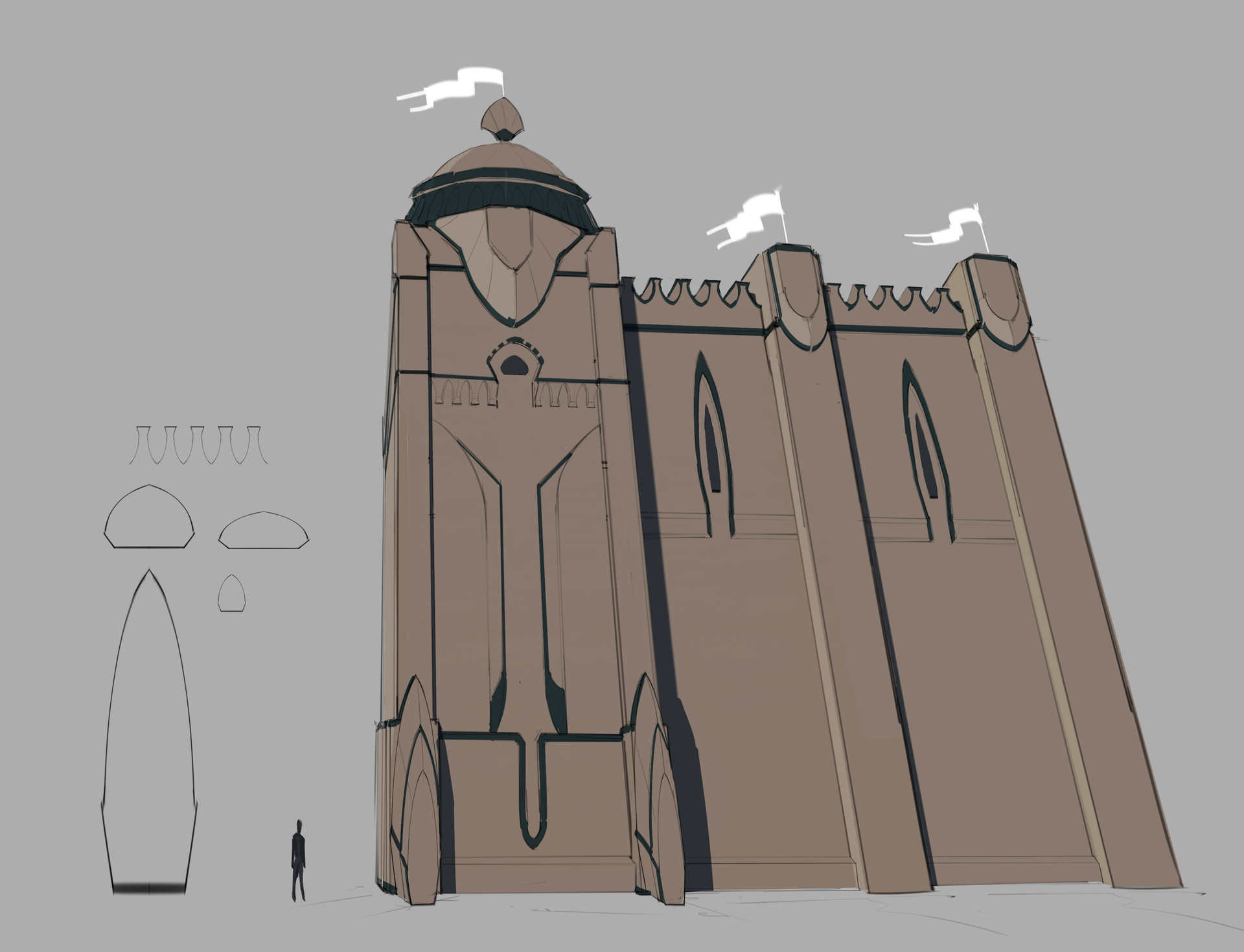 Quick draw over to design out the architecture