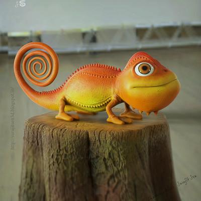 Surajit sen chameleon by surajit sen