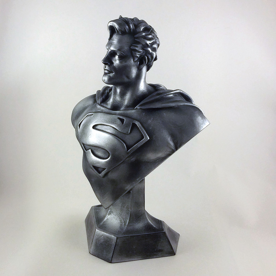 Man of Steel (3D Printed Bust)