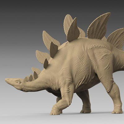 Jia hao stegosaurus digitalsculpture 01