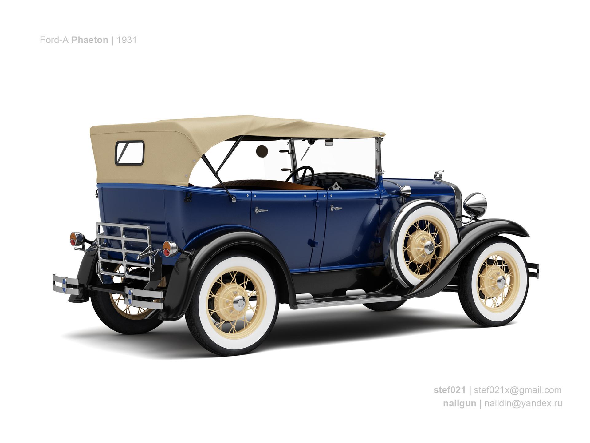 Nail khusnutdinov usa ford a phaeton 1931 1