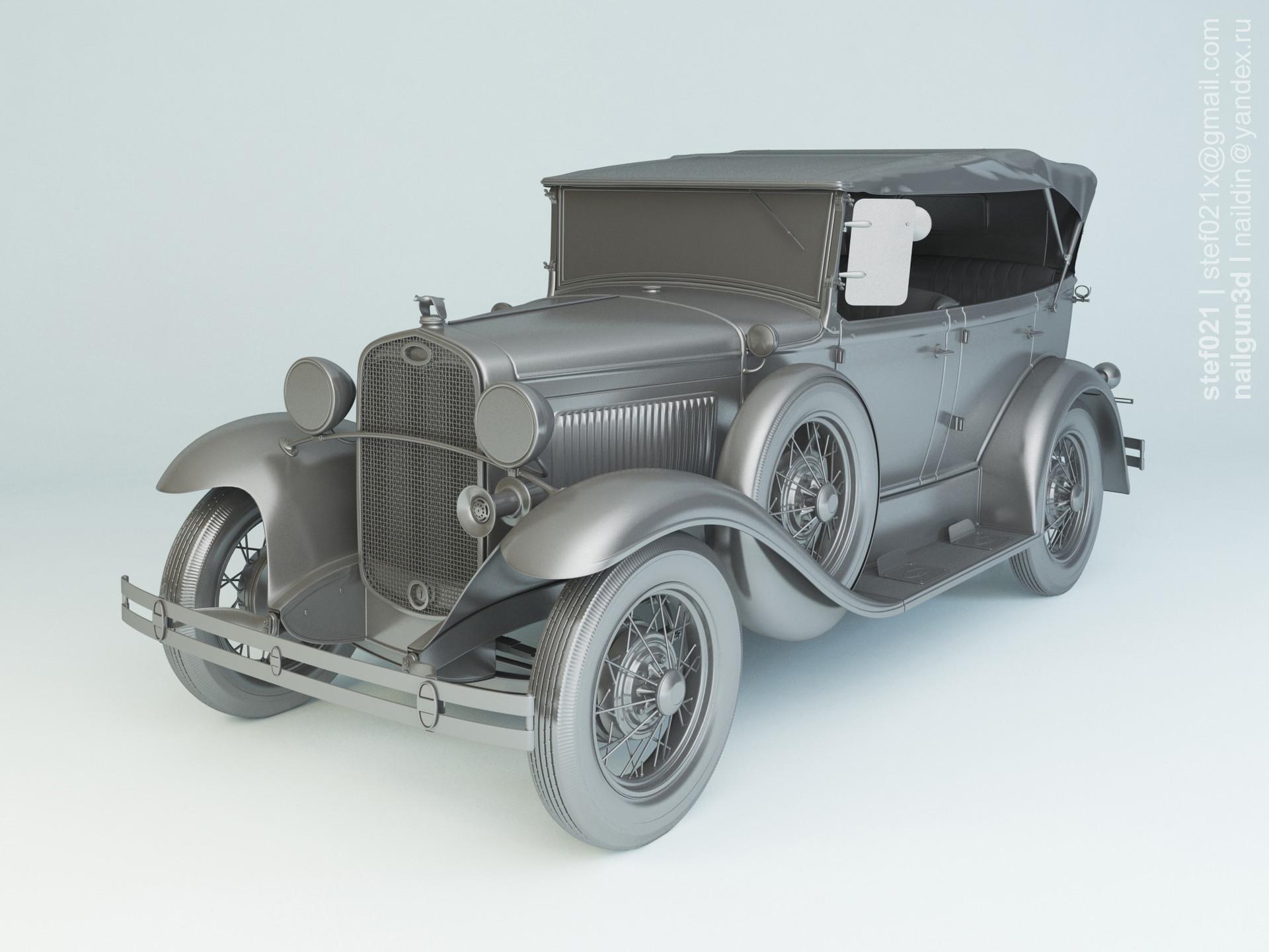 Nail khusnutdinov a0006 ford a phaeton 1931 clay 0