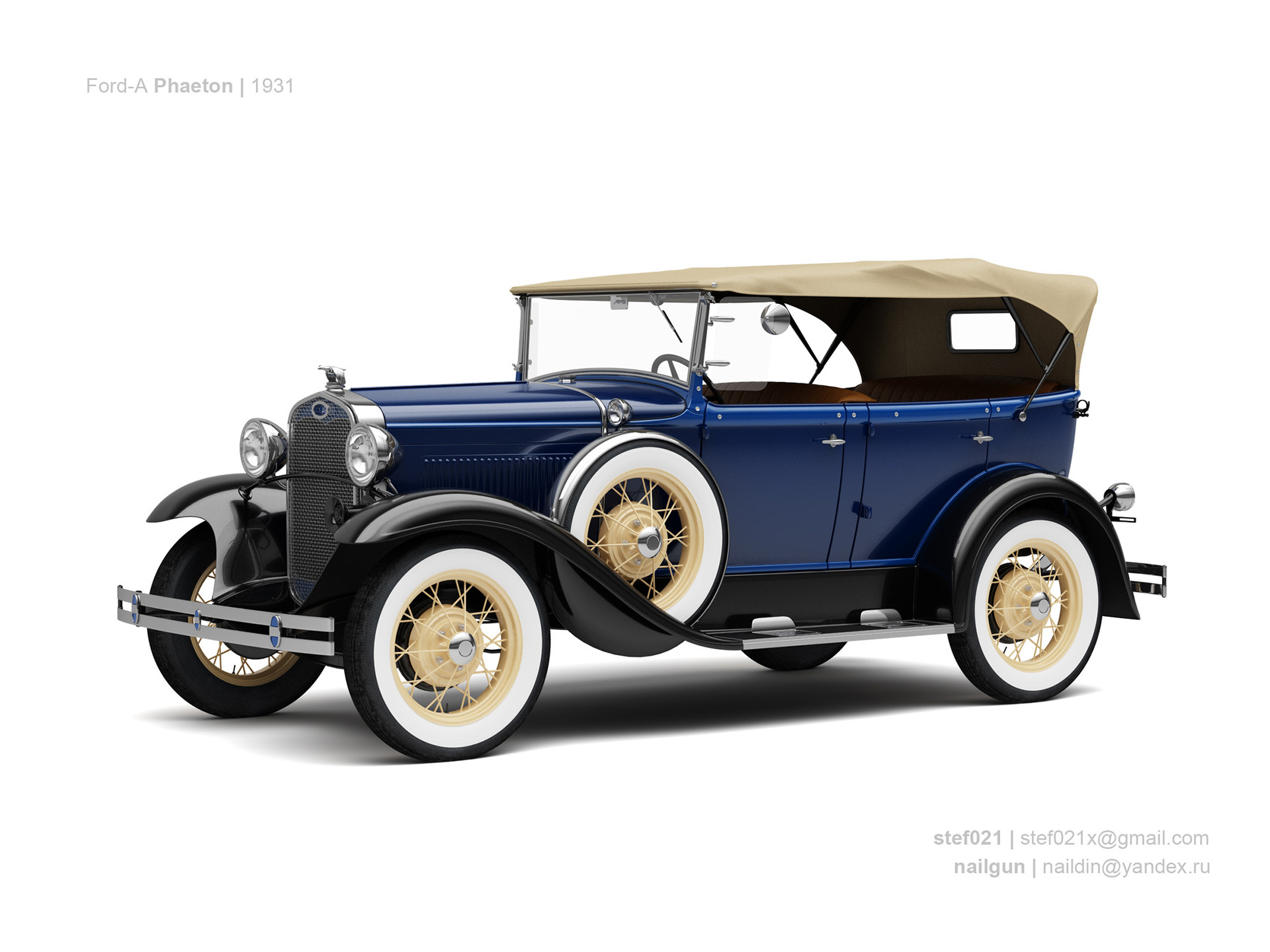 Nail khusnutdinov usa ford a phaeton 1931 0
