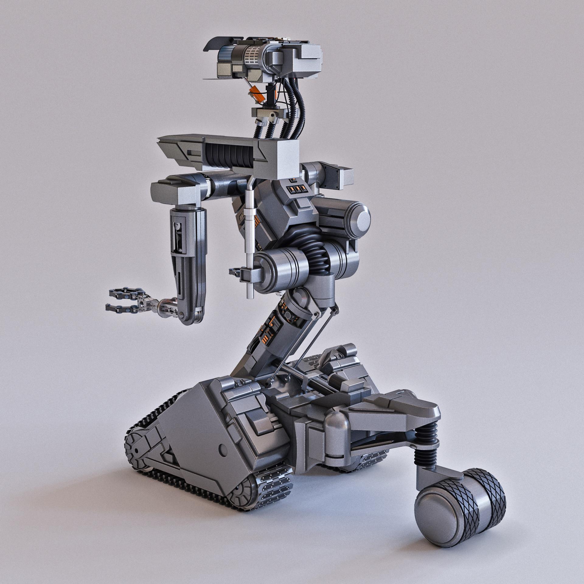 Johnny 5 Robot Magazine Wiring Diagrams Short Circuit Robots Artstation Alexander Demyanov Rh Com