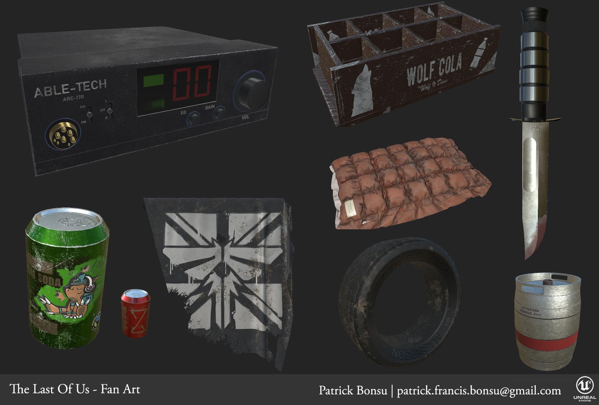 ArtStation - Last of Us - Fan Art [WIP], Patrick Bonsu