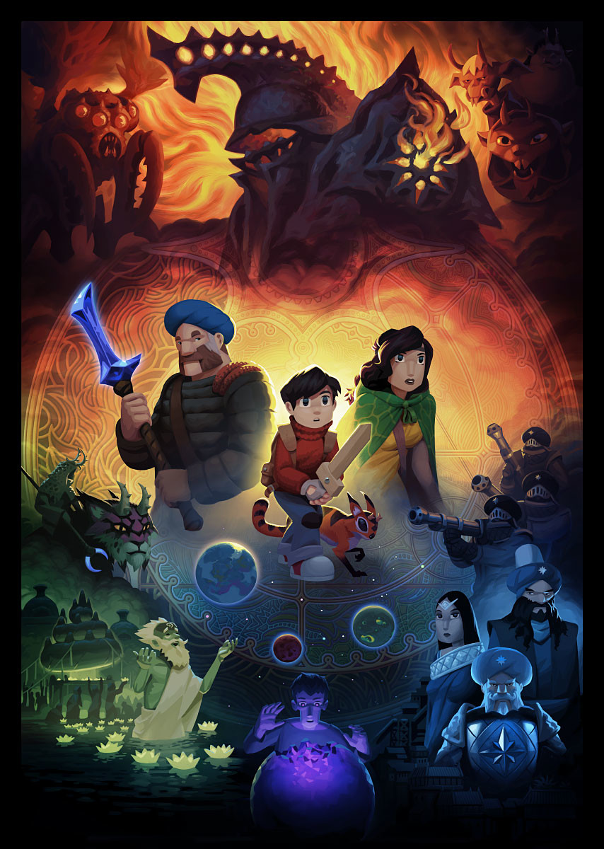 The Wormworld Saga Promotion Artwork