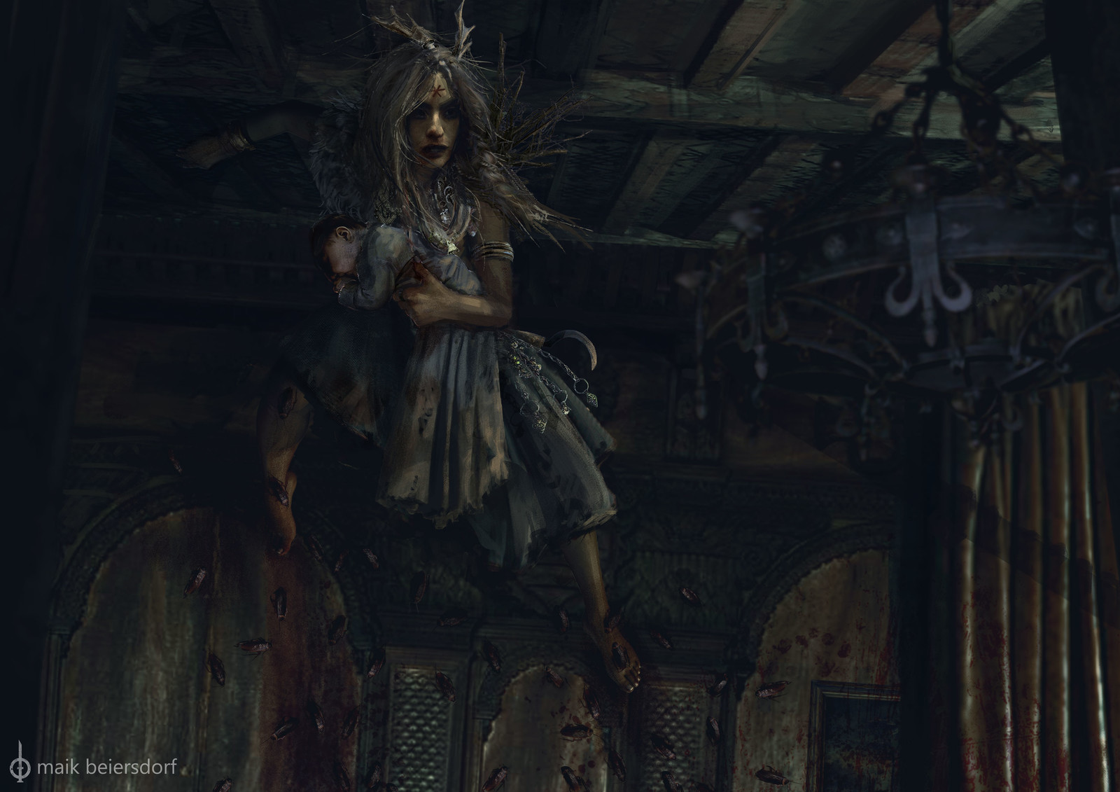 Cornered Witch