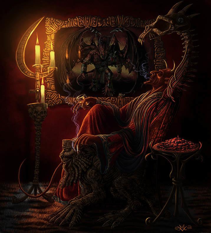 Michal vondracek devil gfx