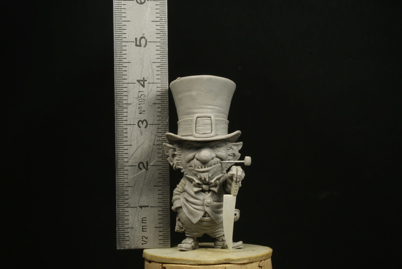 Miniature sculpted by Patrick Masson, on my original illustration, for Blacksmith miniatures http://www.blacksmith-miniatures.com/shop/en/