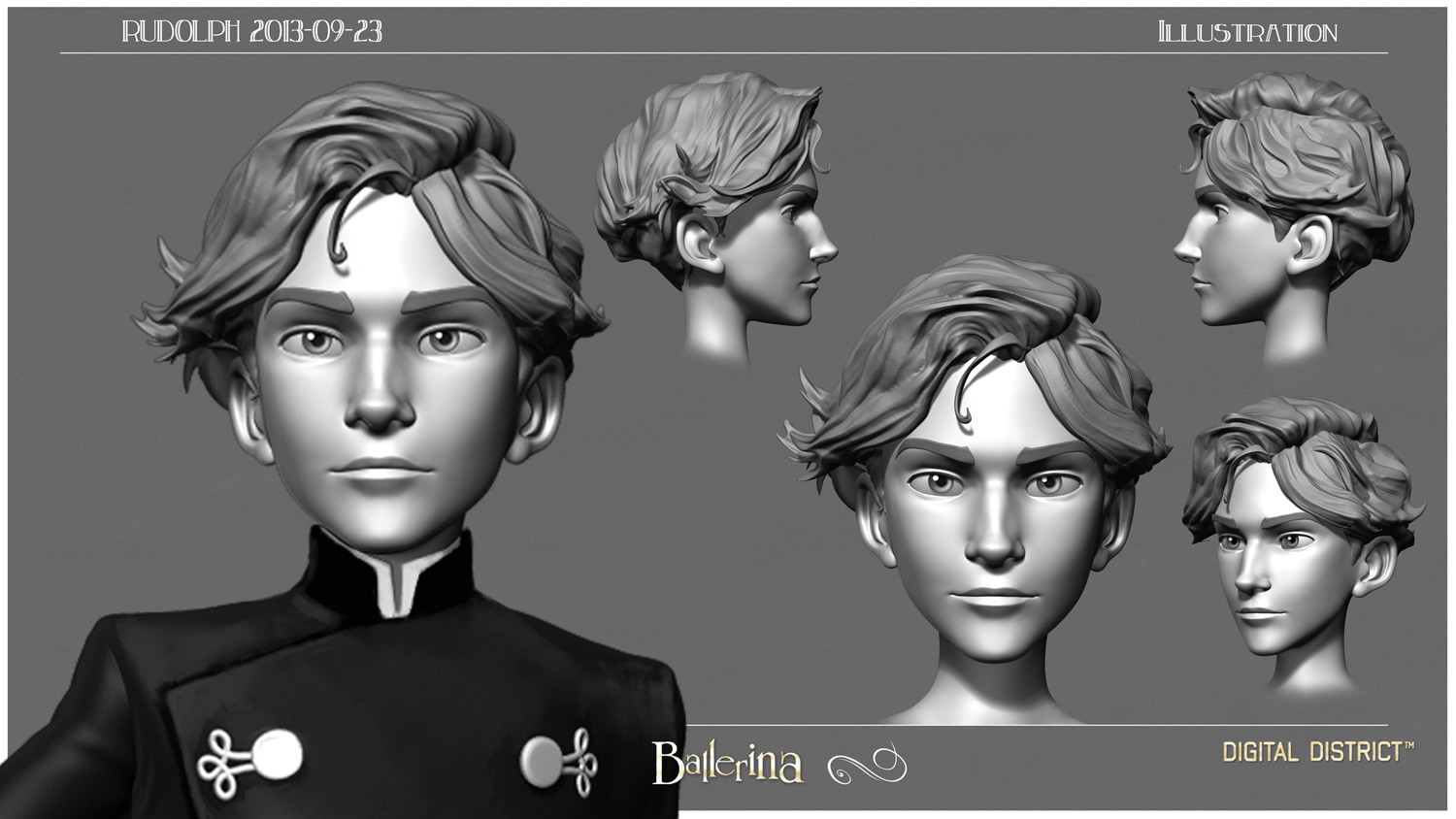 Sculpt on the base mesh for the face.
