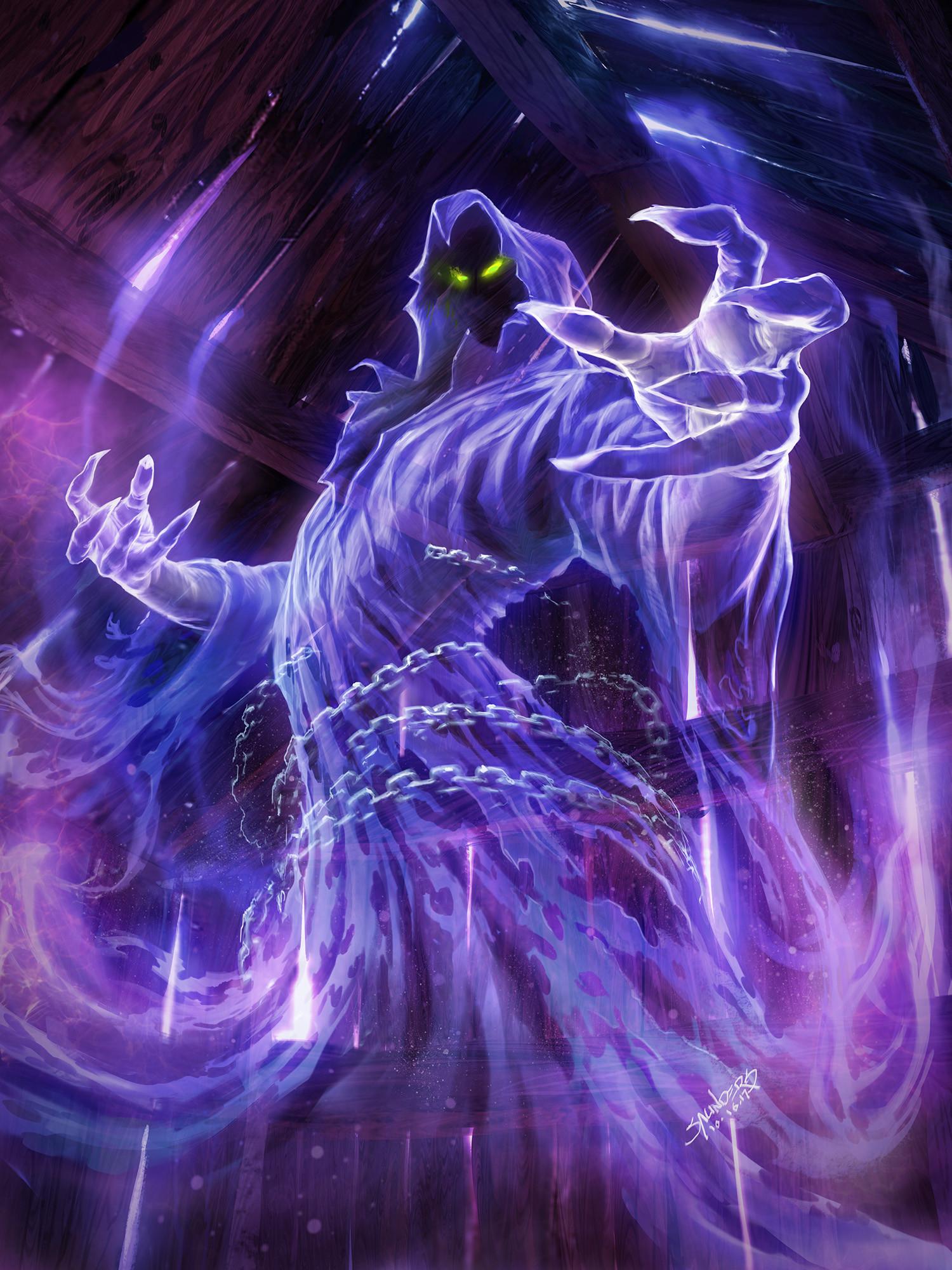 Phil saunders mist wraith web