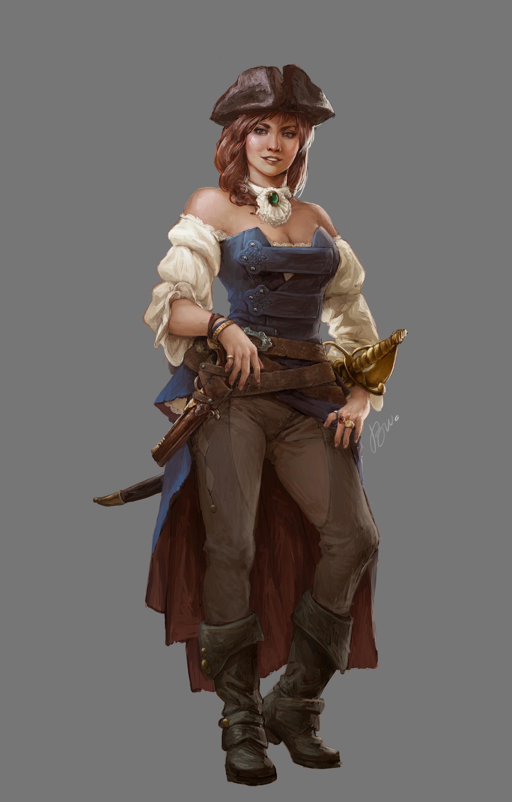 Brenda van vugt tutorialgirl piratesgame
