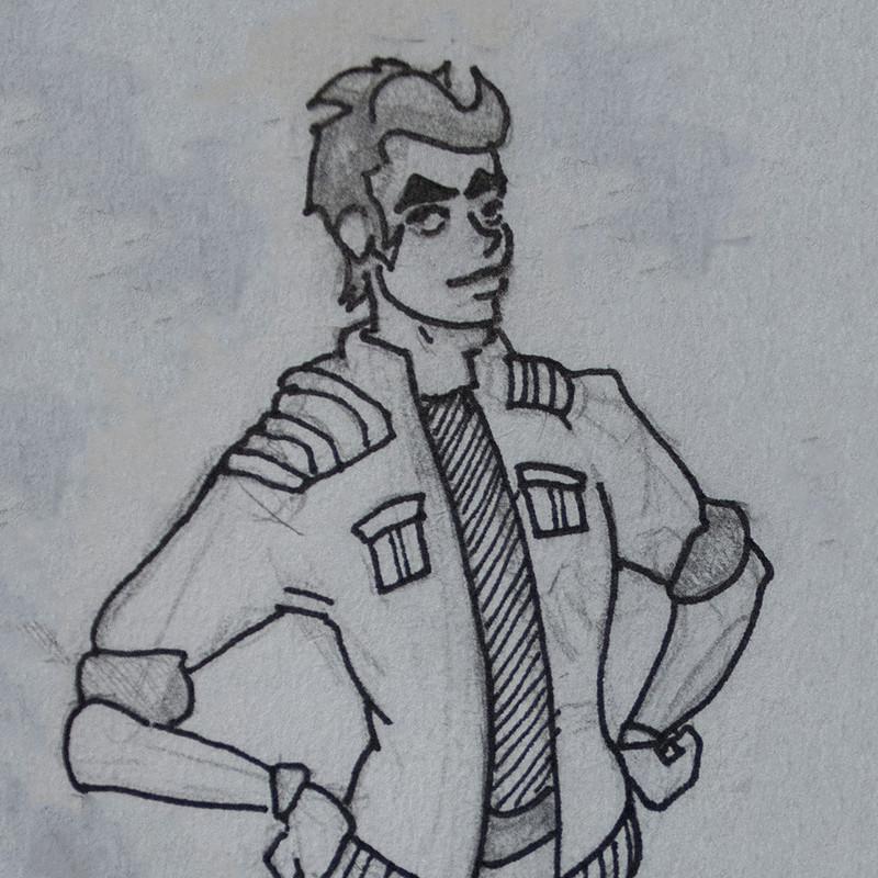 Pilot Origin Sketch
