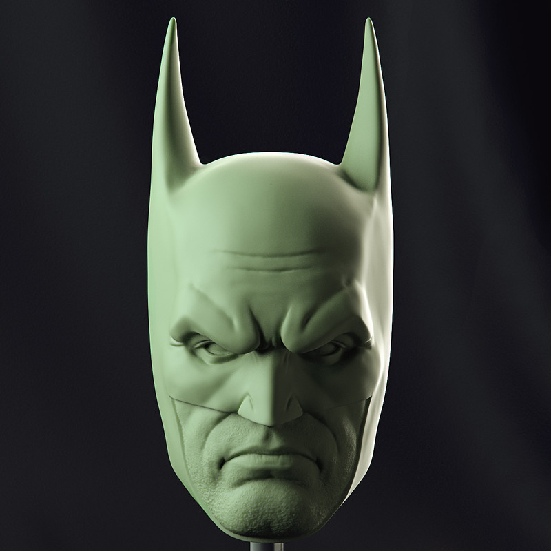 Batman Head Fan Art