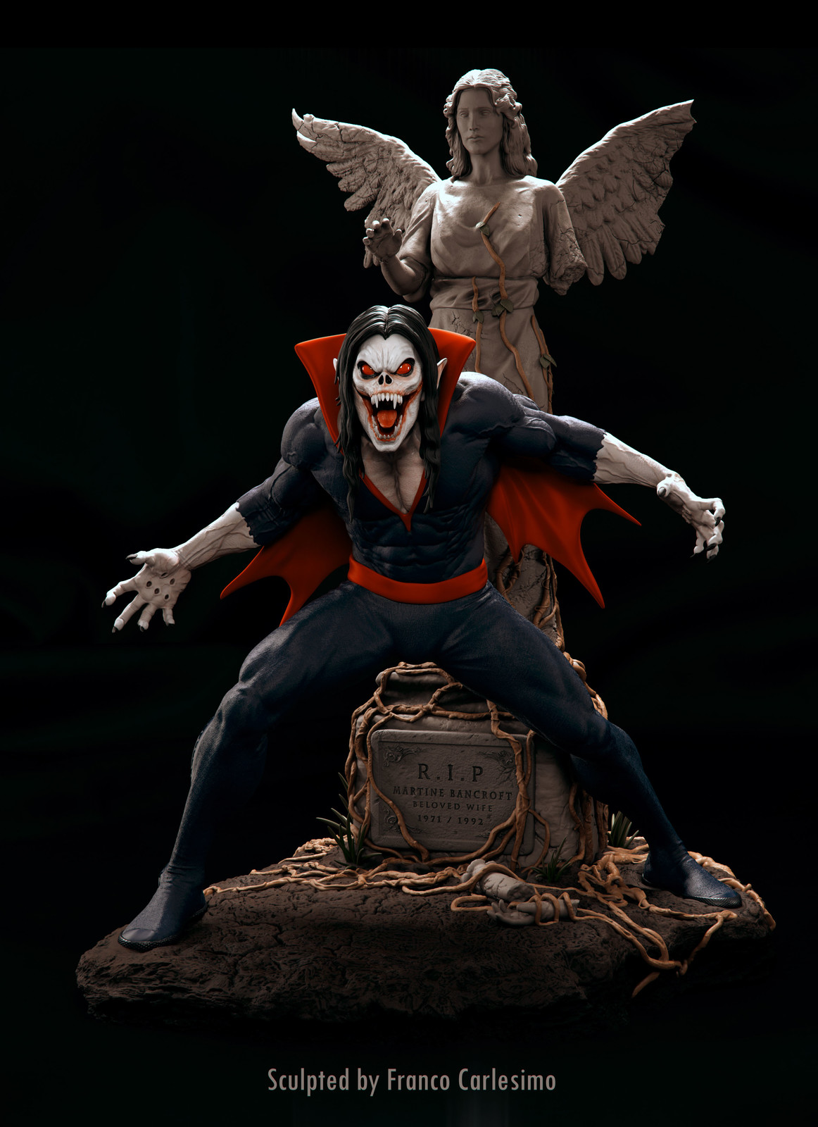 Morbius Different heads