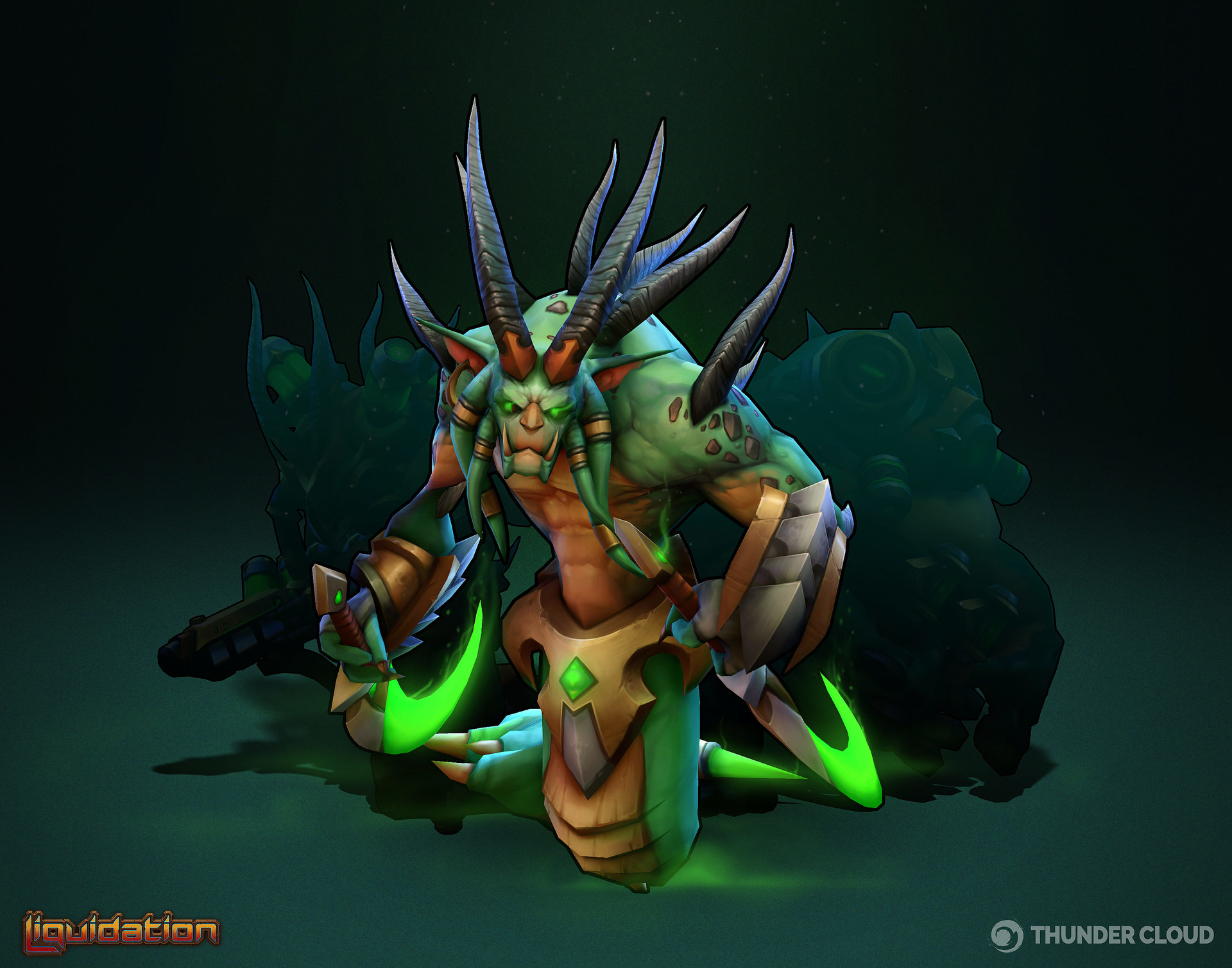 Thunder cloud thescourge artstataion