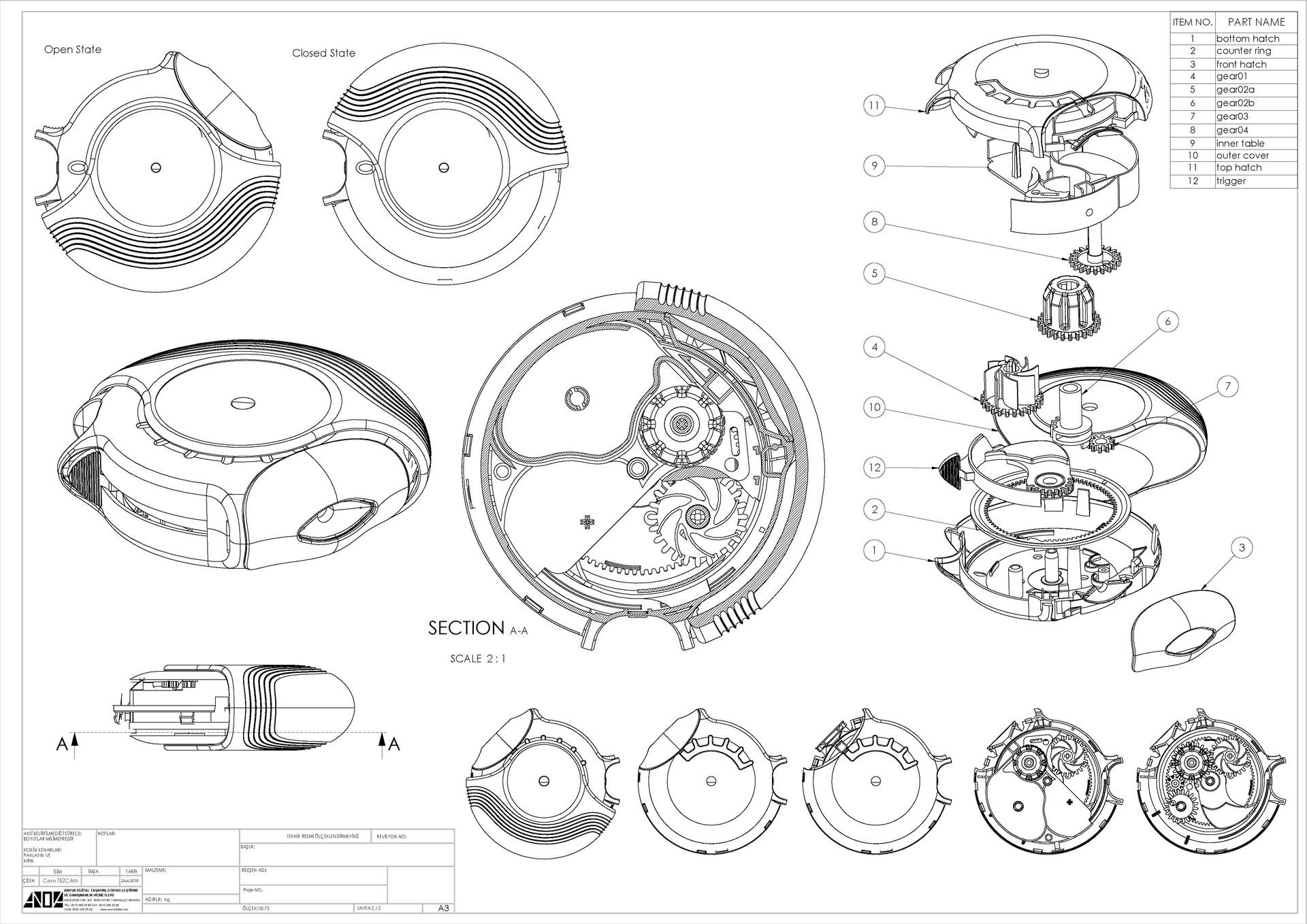 Cem tezcan diskus34 assembly td a3