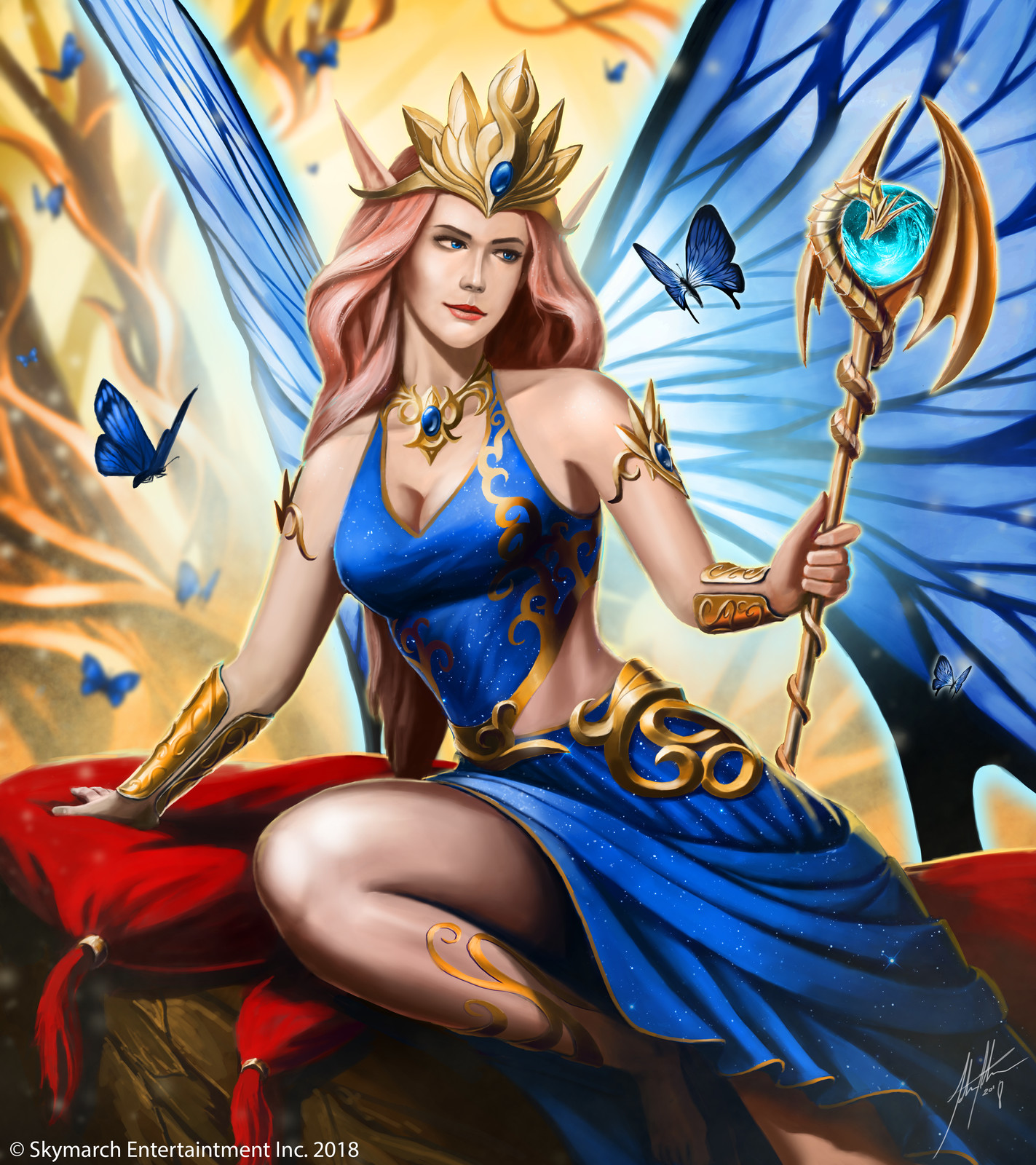Bellina, The Sprite Queen