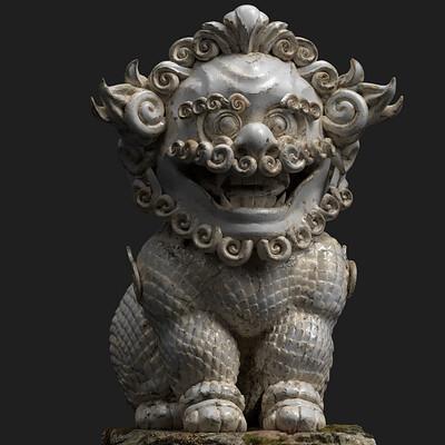 Asian dog WIP