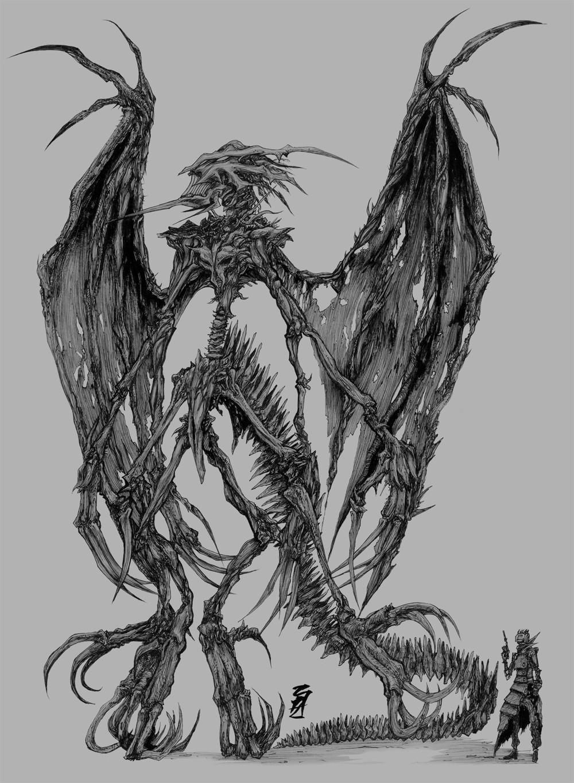 Artstation Dragon Raúl Taboada