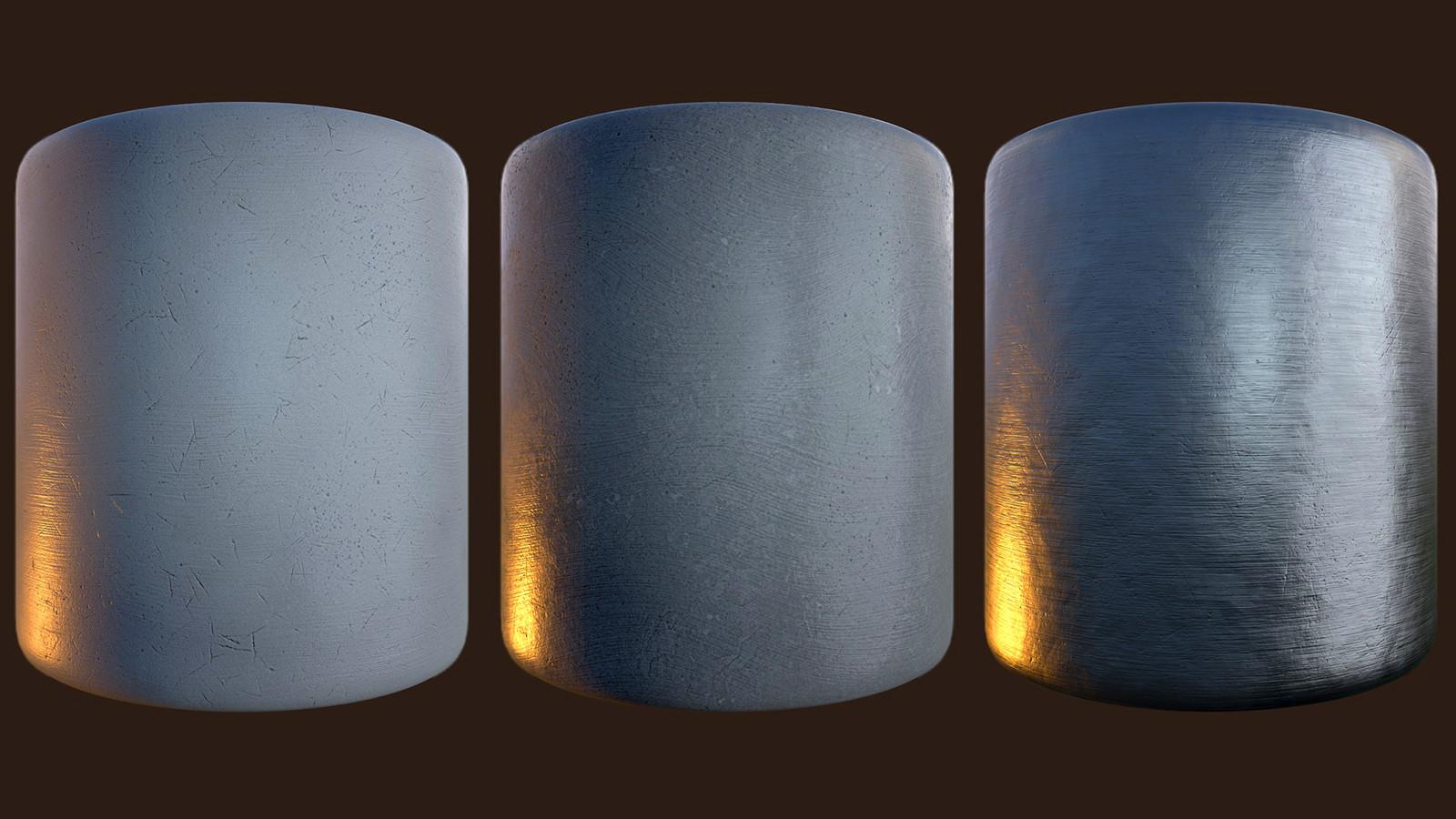 Generic Tiling Texture (Rubber - Plastic - Brushed Metal)