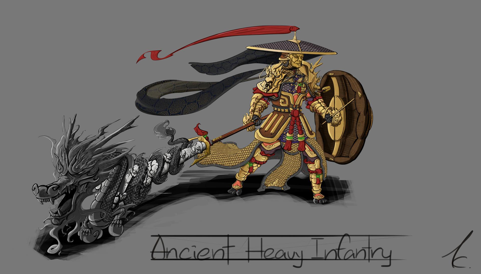 China Ancient Heavy Infantry_01
