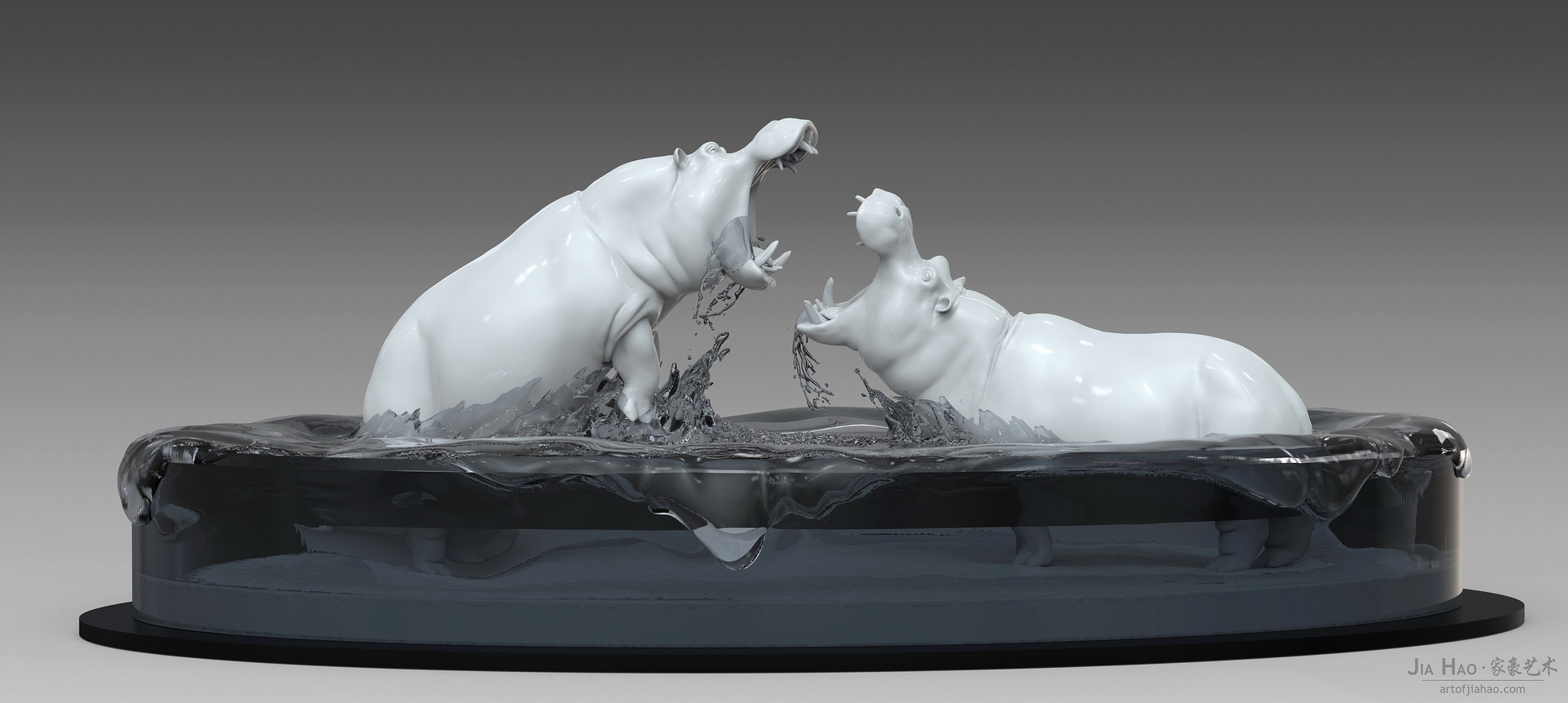Jia hao hippo digitalsculpture 01