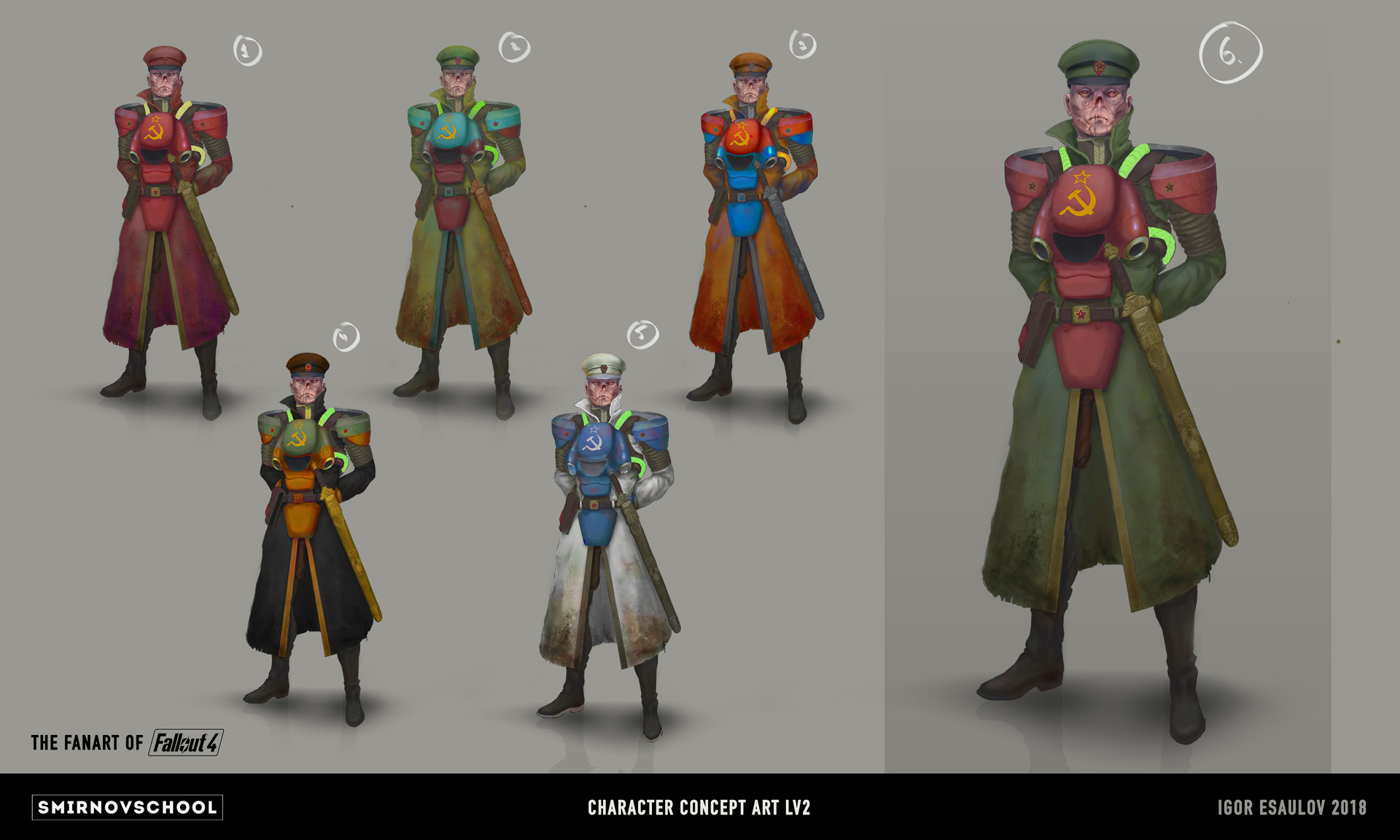 Concept Art Chinese Character Design