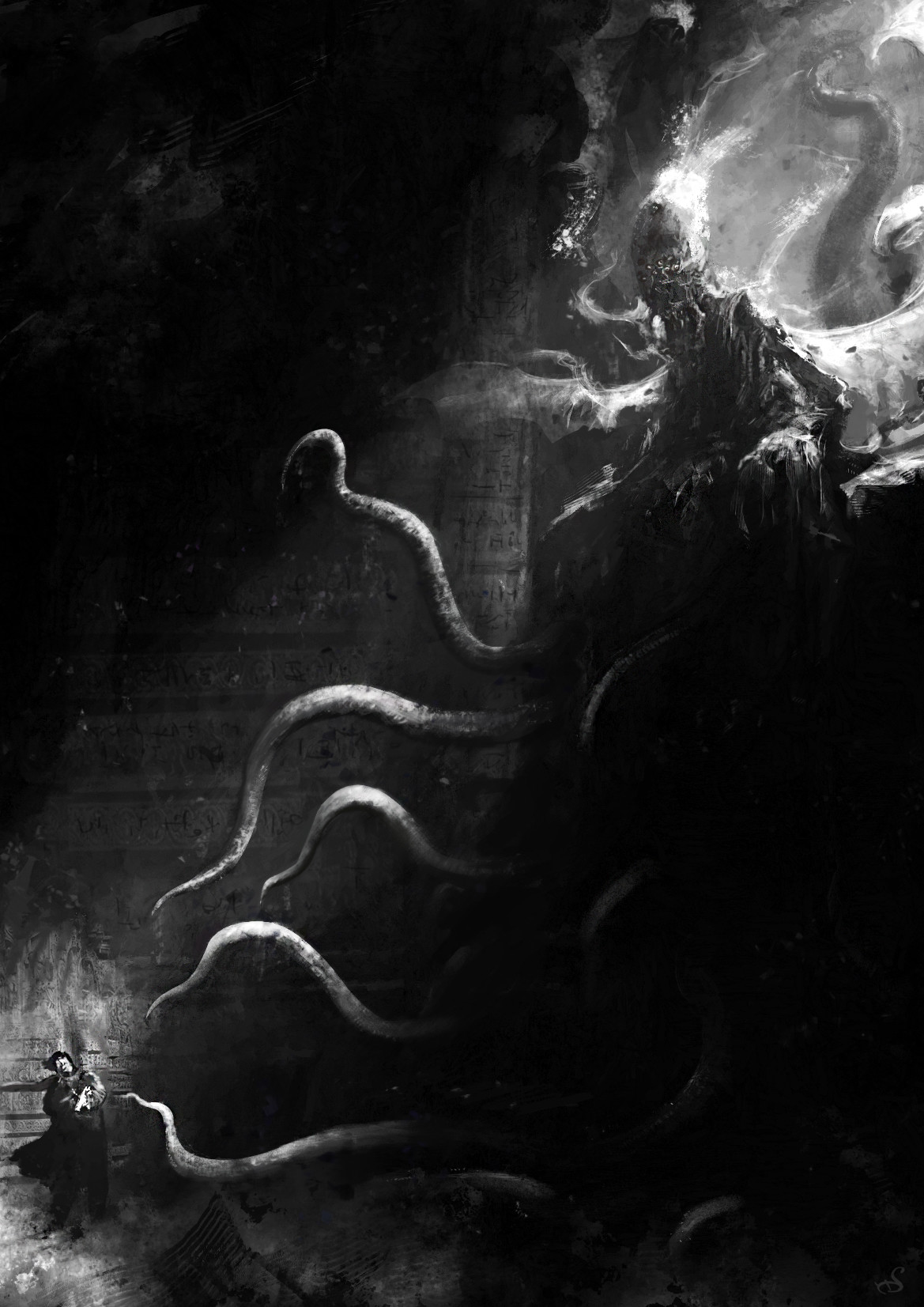 """""""Sur les Traces de Lovecraft"""" pack4"""